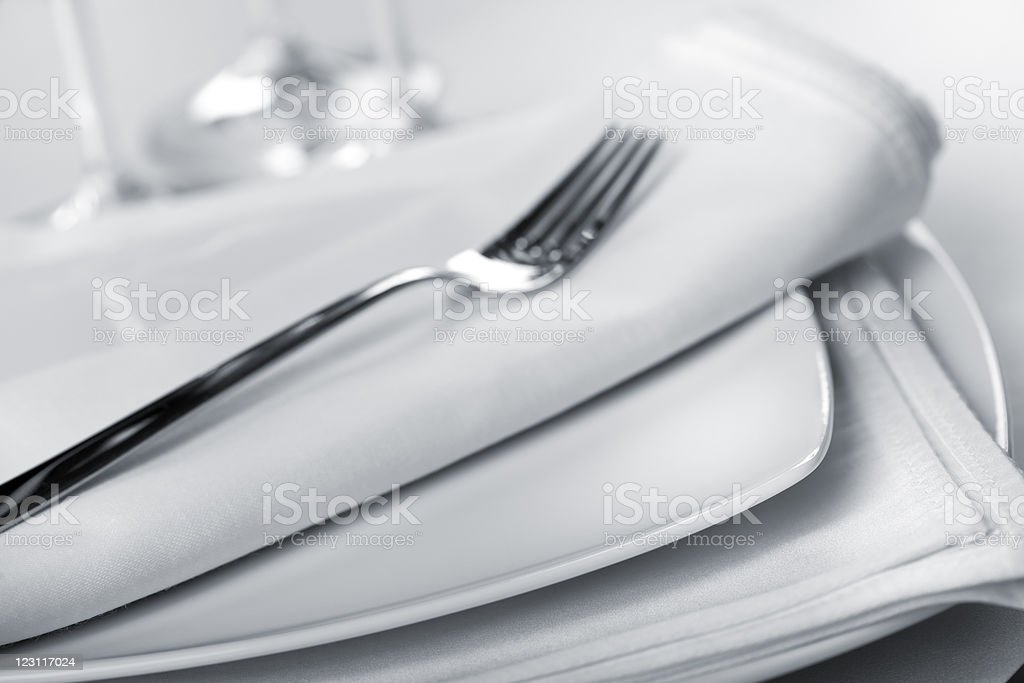 Table Place Setting decoration royalty-free stock photo