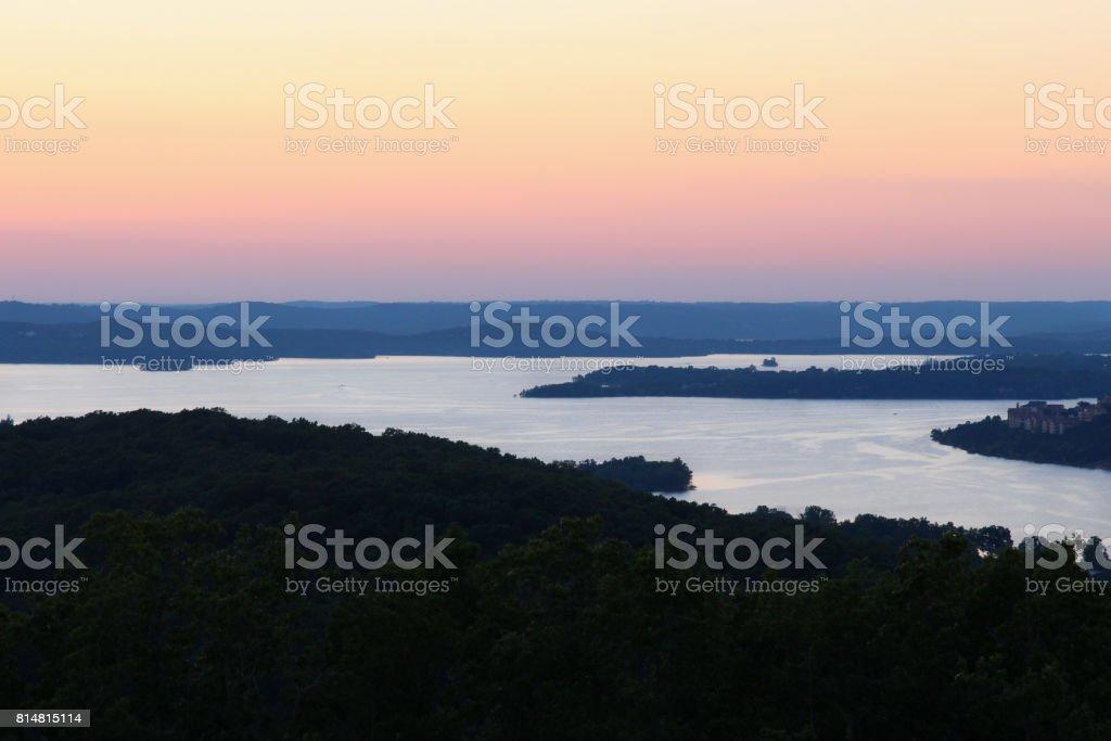 Table Rock Lake stock photo
