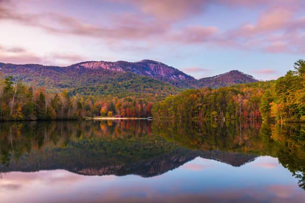 Table Rock Mountain, Pickens, South Carolina, USA stock photo