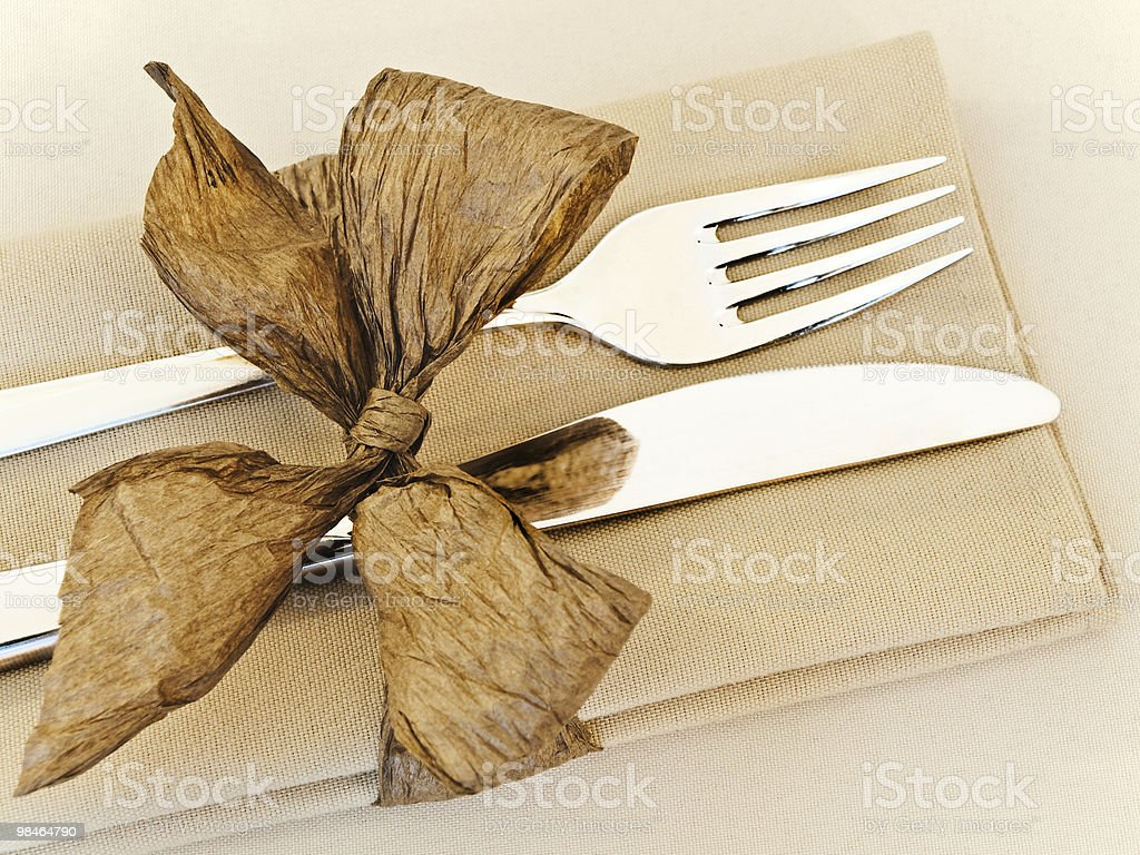 table serving royalty-free stock photo