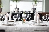 テーブルセッティング、パーティやウェディング、イベント