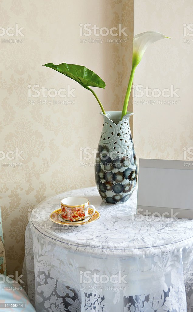 Table set royalty-free stock photo