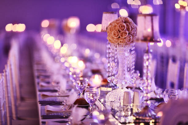 Table setting at a luxury wedding reception picture id831381580?b=1&k=6&m=831381580&s=612x612&w=0&h=mg7nej9d1xmbxb q9qotwrrbjjzesozc2edtizei1ea=