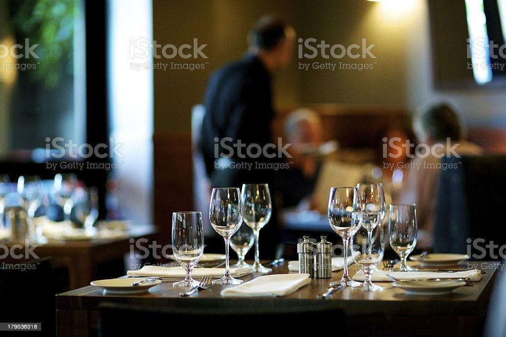 Tisch im Restaurant – Foto