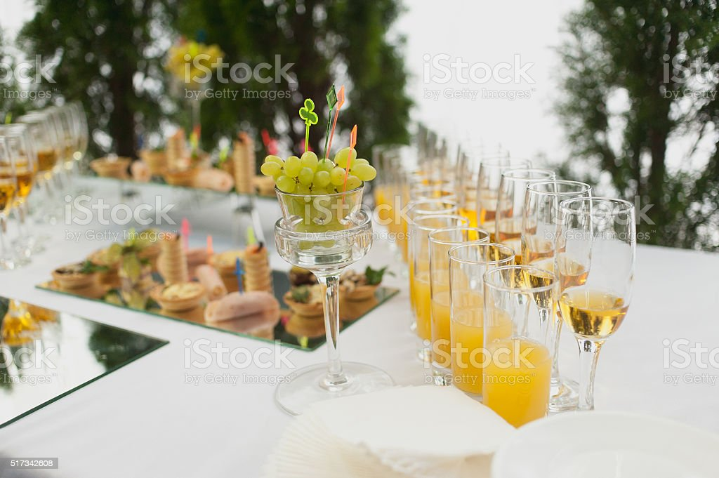 table setting banquets buffet delicious canapes holiday royalty-free stock photo & Table Setting Banquets Buffet Delicious Canapes Holiday Stock Photo ...