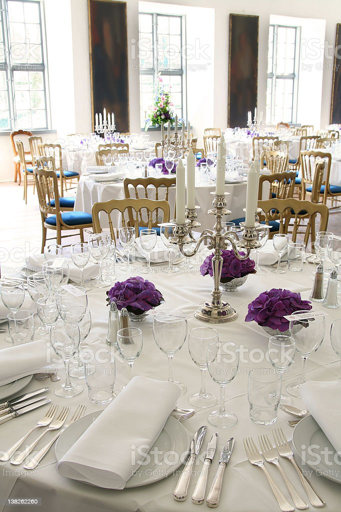 table setting cutlery royalty-free stock photo