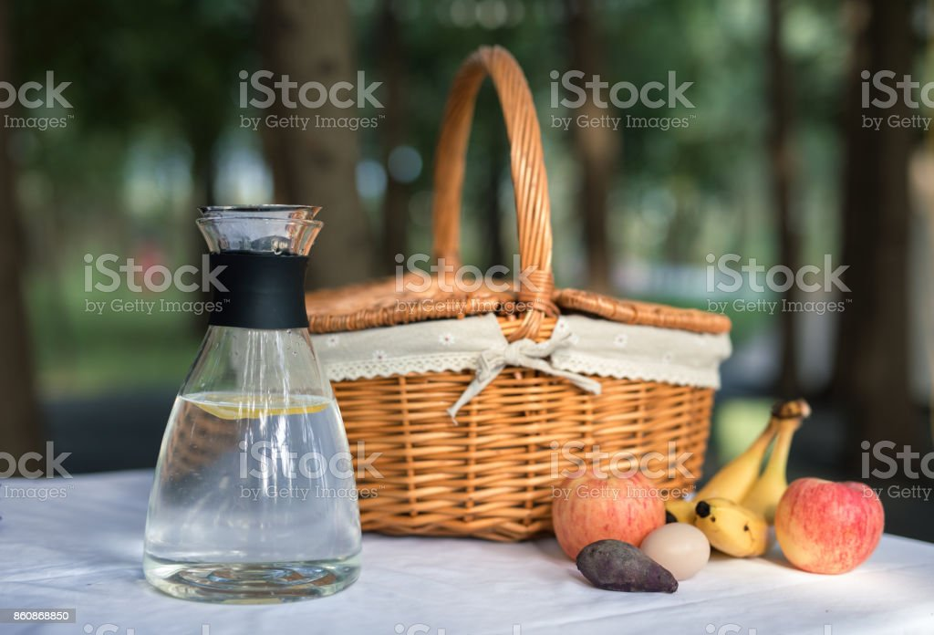 table setting food celebration party concept stock photo