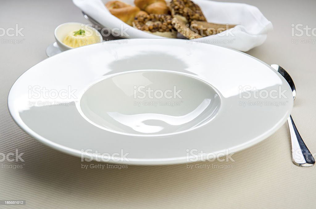Table settings royalty-free stock photo