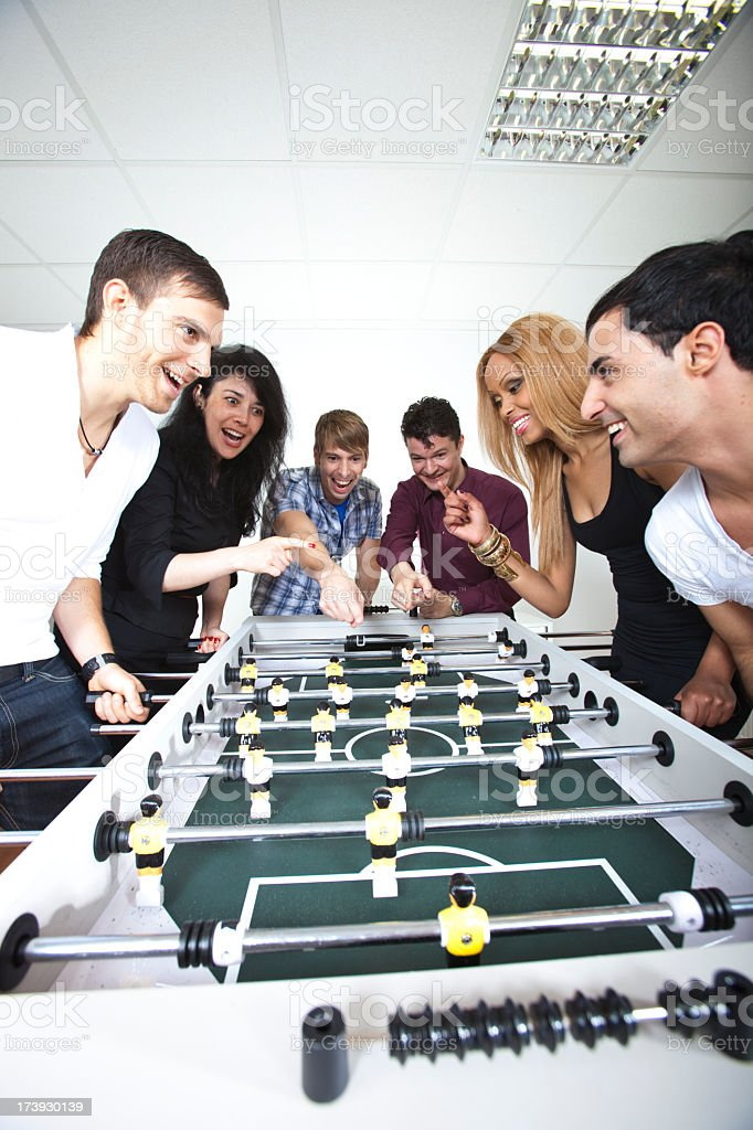 Table Soccer royalty-free stock photo