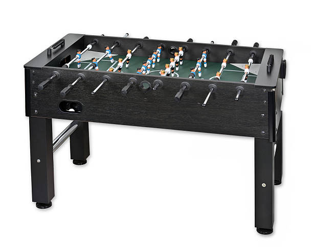 Table soccer Start to play table soccer. ventriloquist's dummy stock pictures, royalty-free photos & images