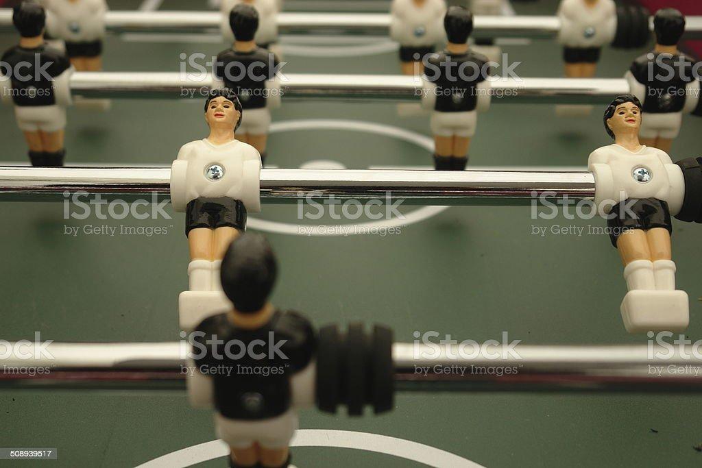 Table Soccer stock photo