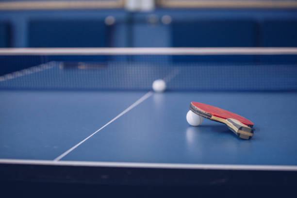 table tennis equipement - rakietka do tenisa stołowego zdjęcia i obrazy z banku zdjęć