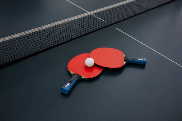 table tennis equipment - table tennis stock pictures, royalty-free photos & images