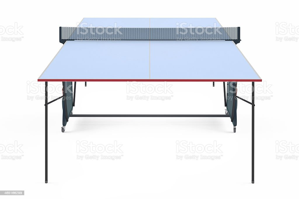 Table tennis ping pong isolated royalty-free stock photo