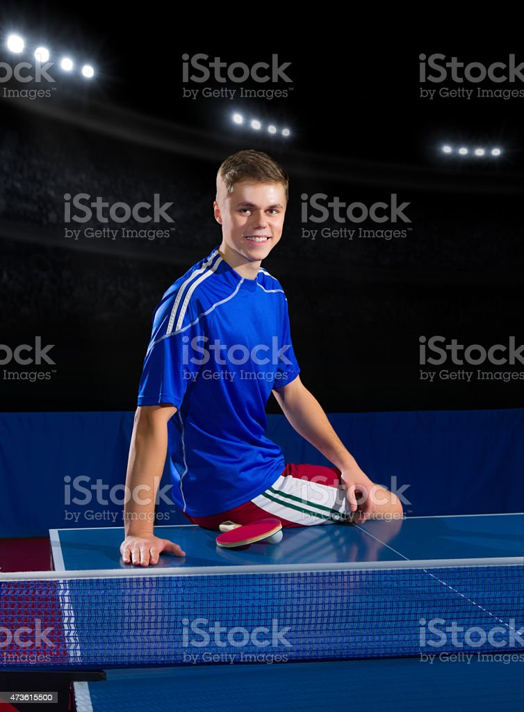 Table Tennis Player Stock Photo Download Image Now Istock