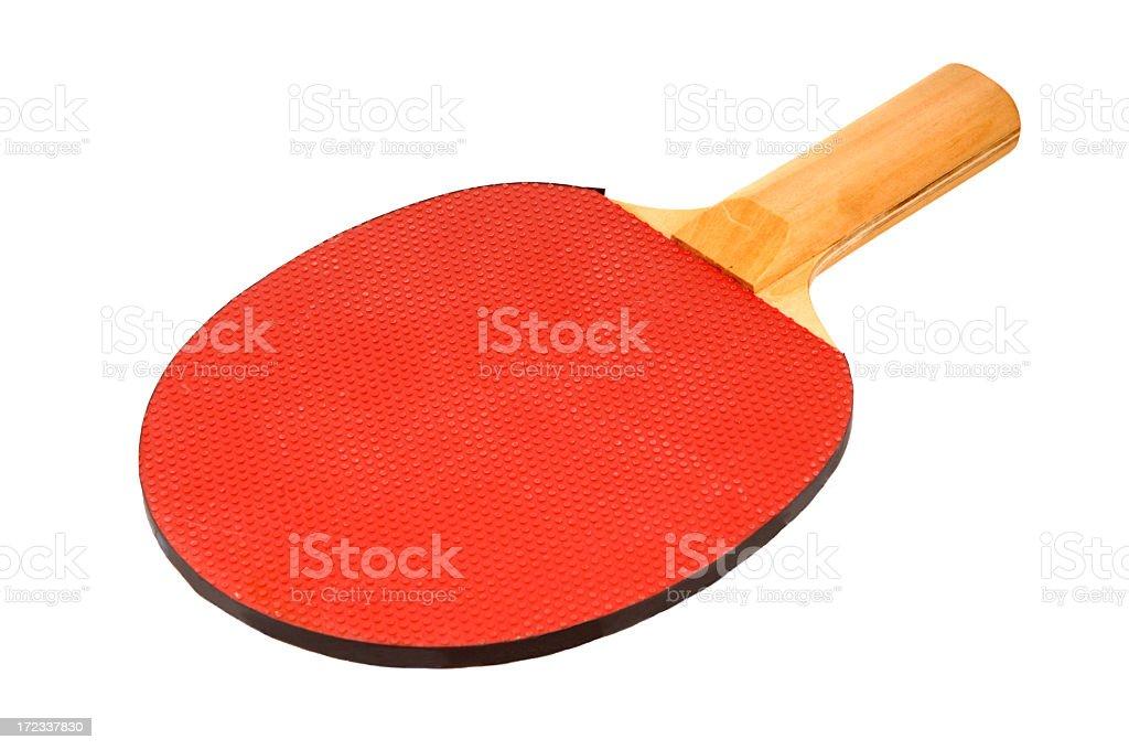 Table Tennis Racket royalty-free stock photo