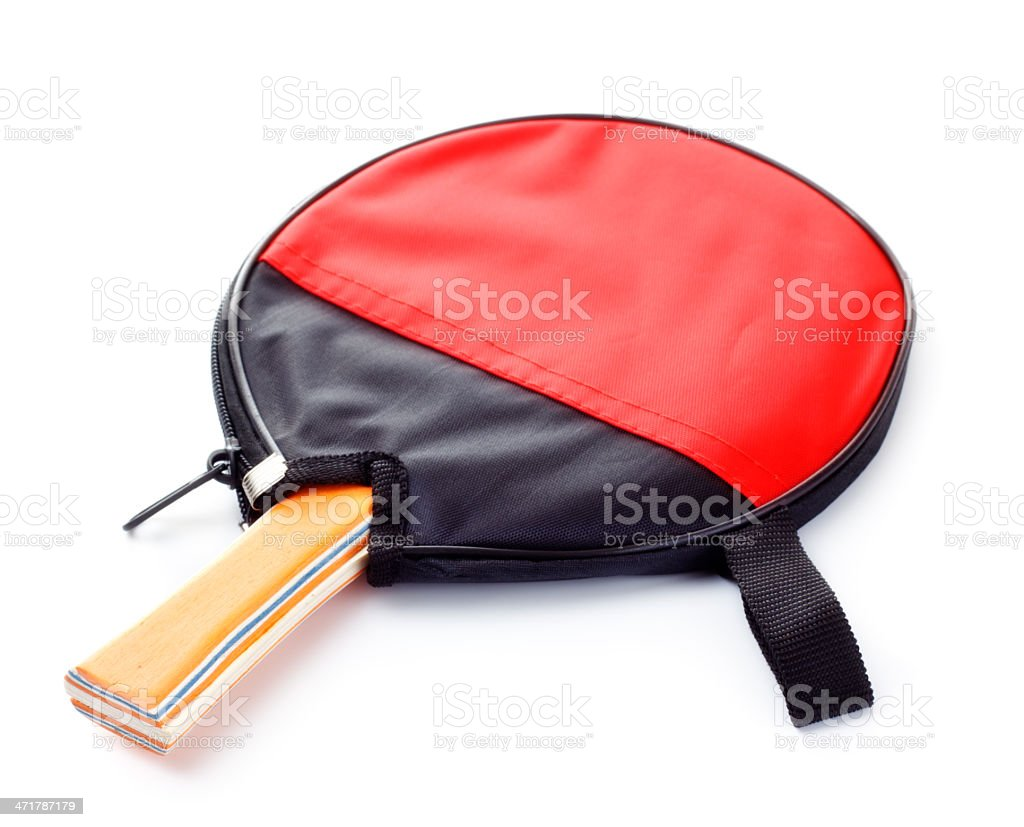 table tennis racket royalty-free stock photo