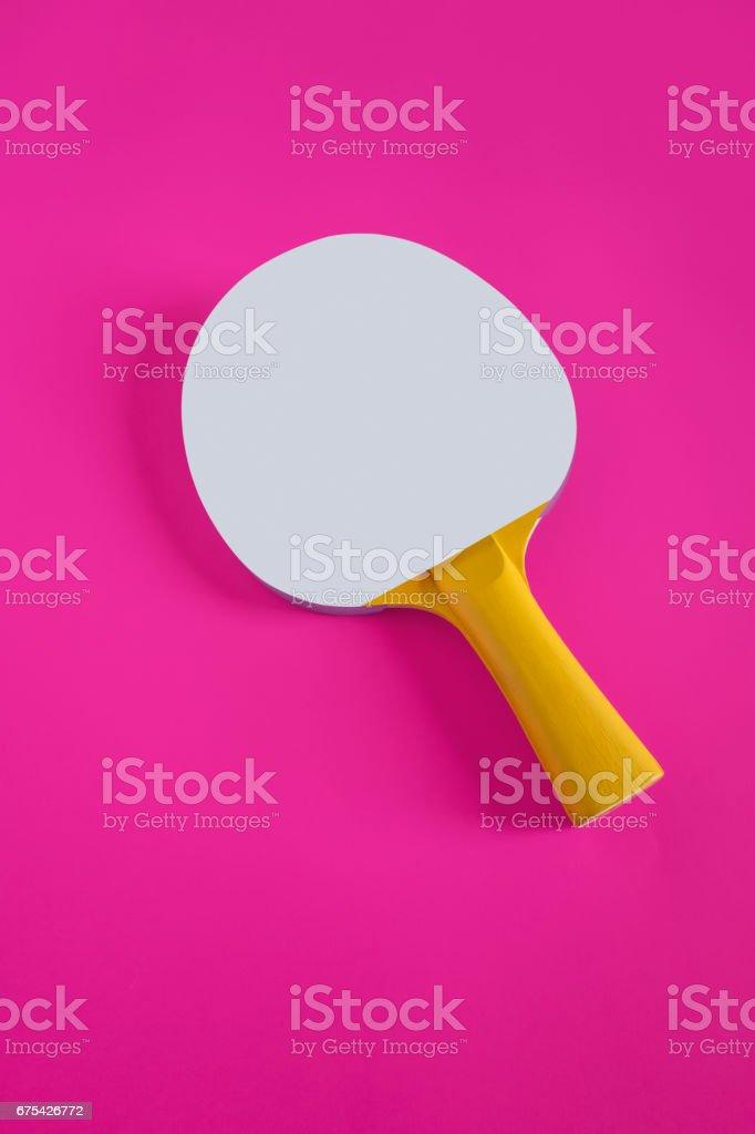 Raquette de tennis de table photo libre de droits
