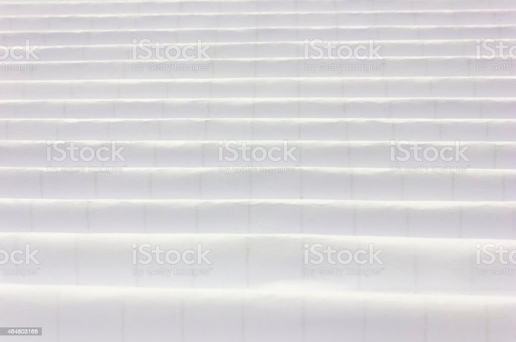 table textured sheet of paper folded. stock photo