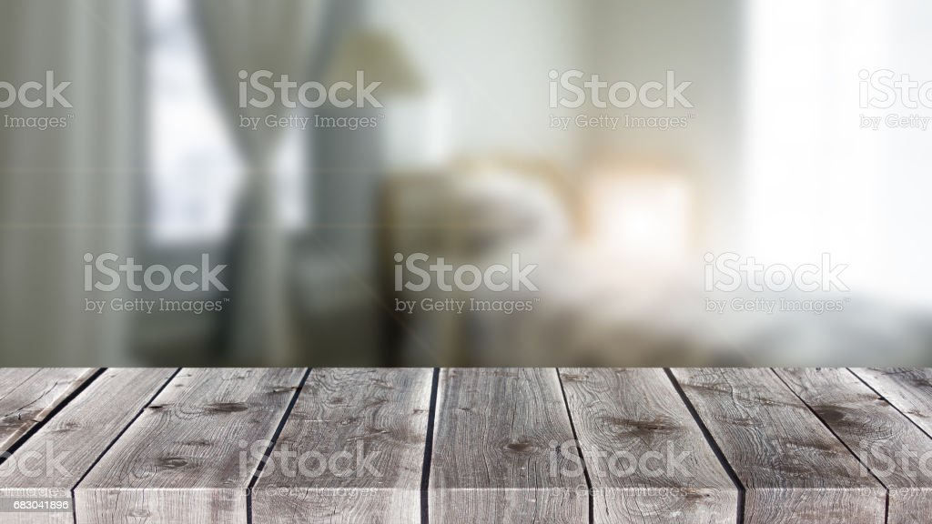 Table Top And Blur Office of Background. royalty-free stock photo