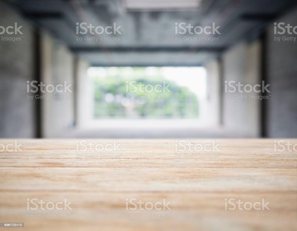 Tabelle Top Theke Bar Verwischen Innenraum Loft Raum ...