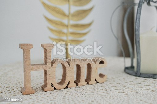 Home, Decorative Arts, Elements - Various decorative items arranged over a table top