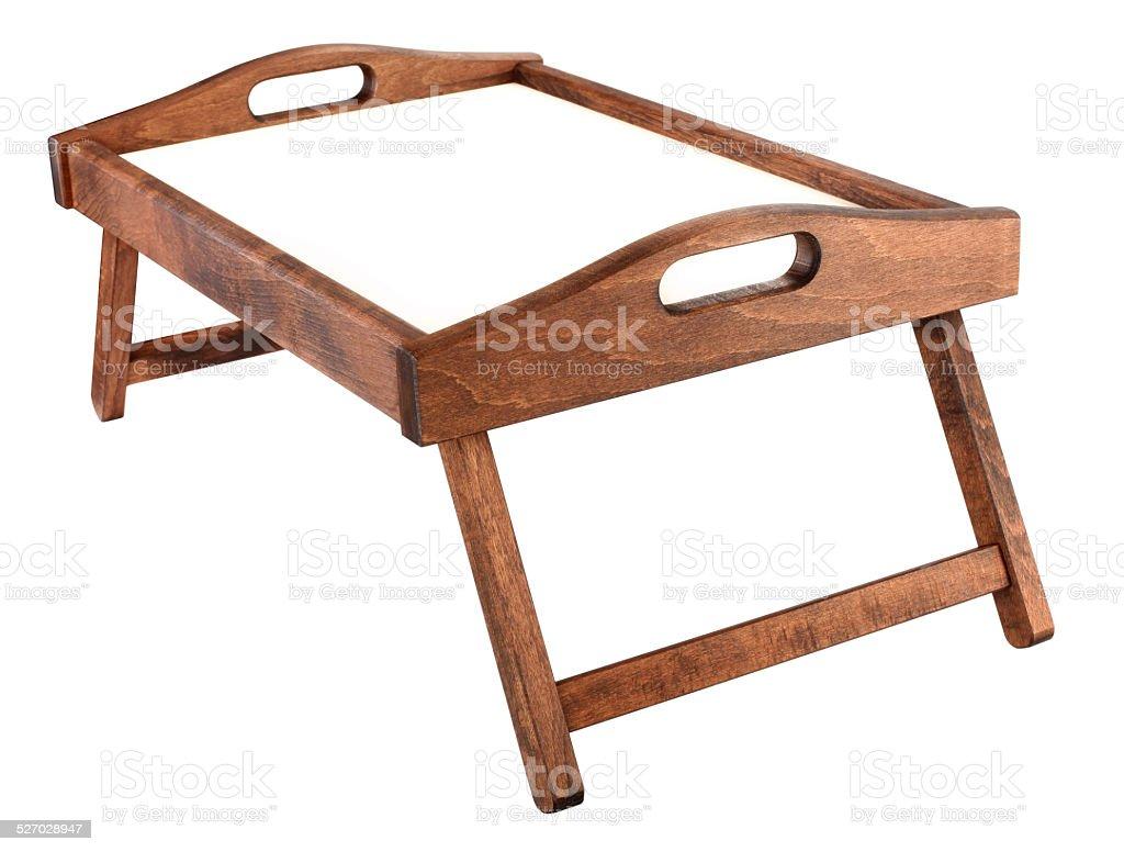 Tisch Tablett Für Frühstück Im Bett Stockfoto Und Mehr Bilder Von