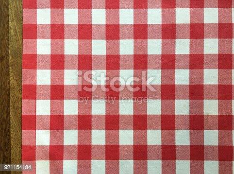 Classic linen tablecloth texture