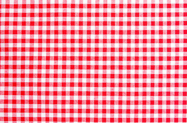 Tablecloth red white pattern Tablecloth red white pattern plaid stock pictures, royalty-free photos & images