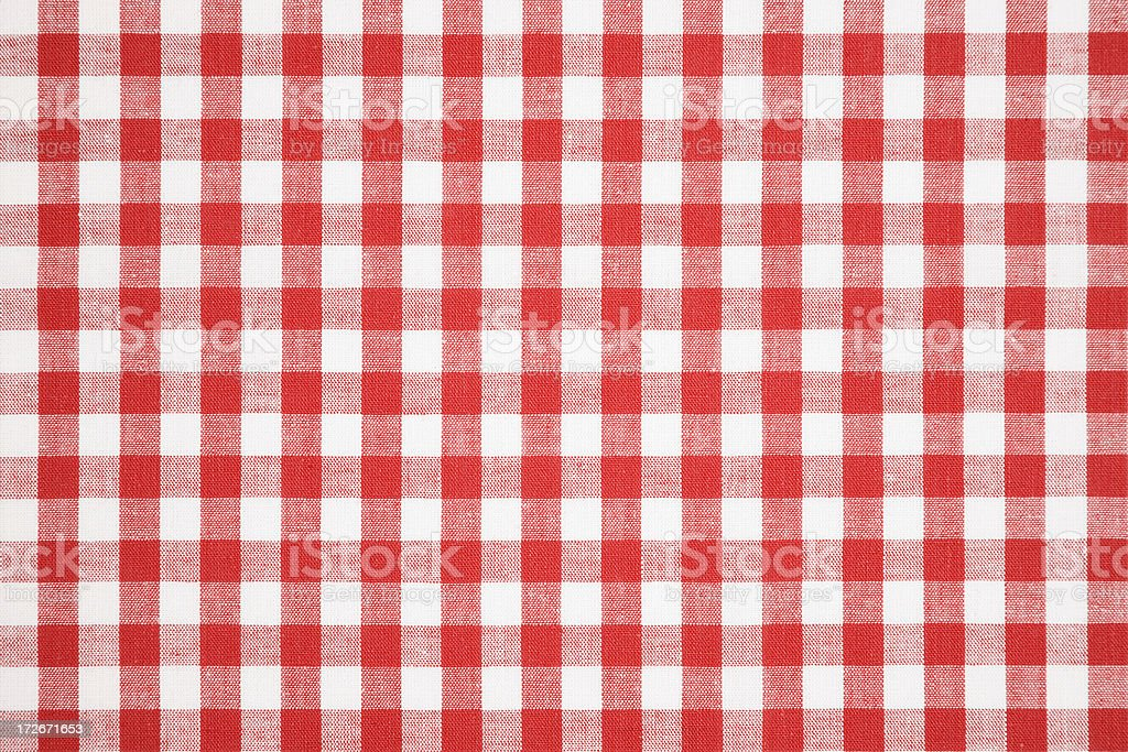 Tablecloth texture-checked fabric royalty-free stock photo