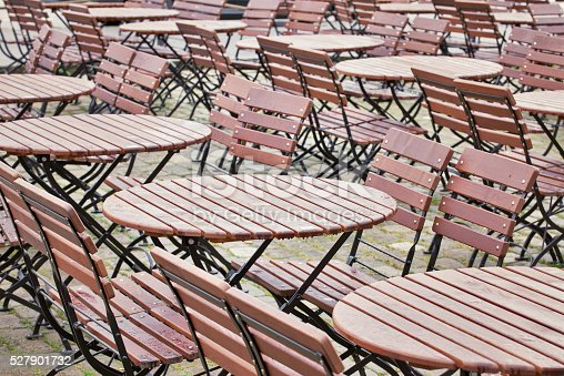 647209792 istock photo Tables and chairs 527901732