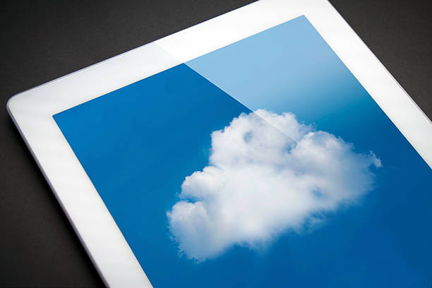 iPad-cloud-computing. – Foto