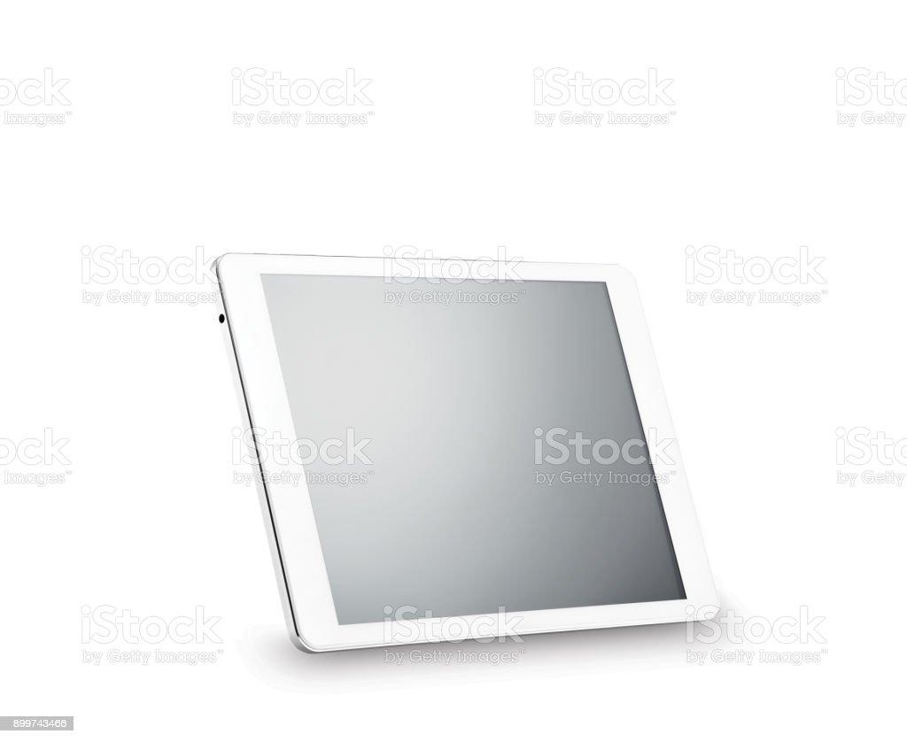 Tablet-Computer mit Beschneidungspfad – Foto