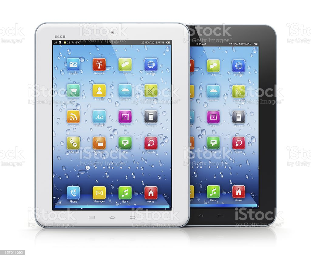 Tablet computers royalty-free stock photo