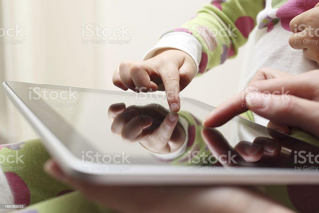 Tablet-Spaß – Foto