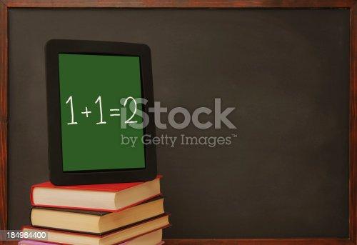 622006346 istock photo Tablet pc in school 184984400