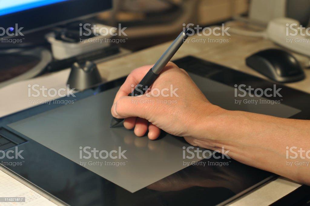 Tablet PC - foto de stock