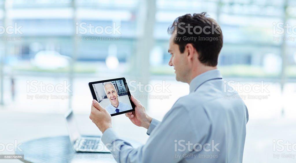 Tablet-Technologie: Beseitigung der erreichbar – Foto
