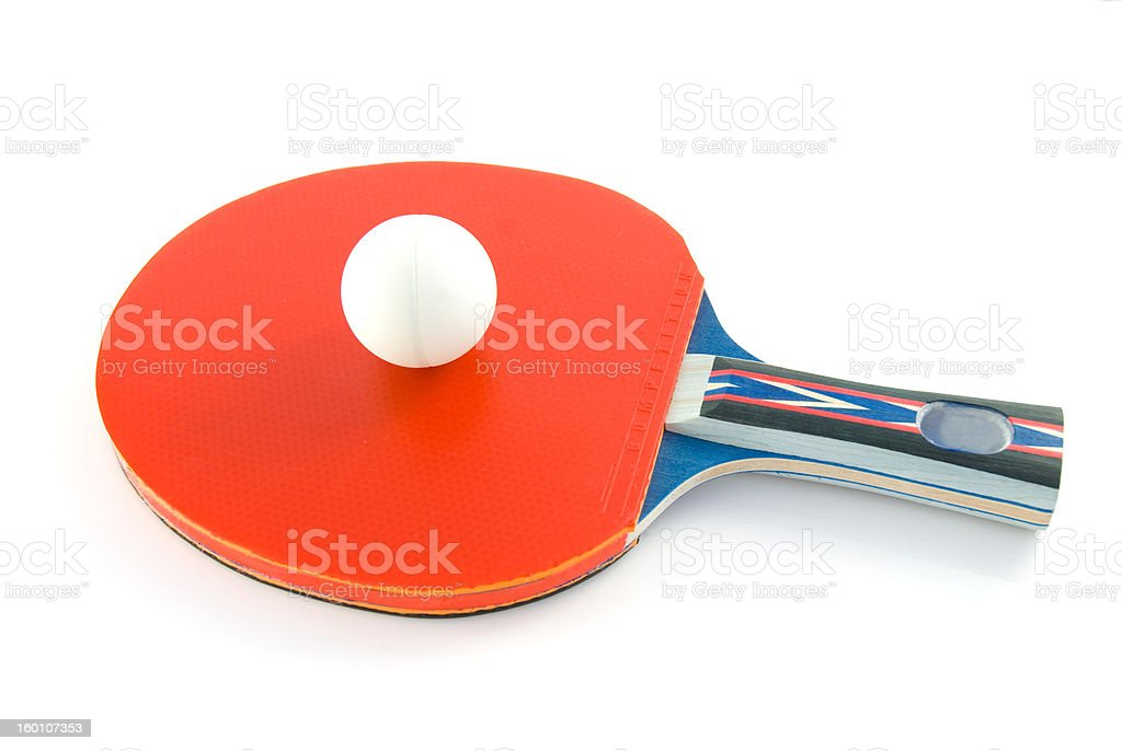 Tabletennis paddle royalty-free stock photo