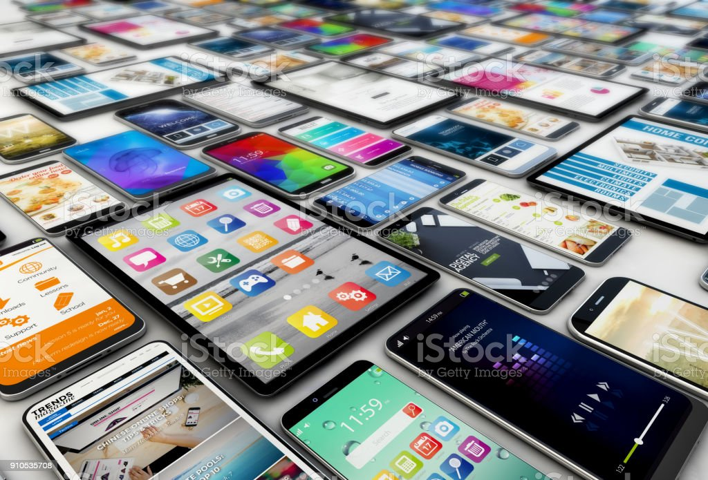tablets und smartphones – Foto