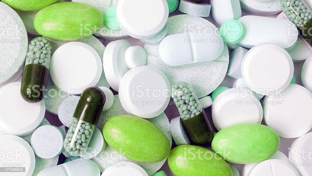 tablets, background. royalty-free stock photo