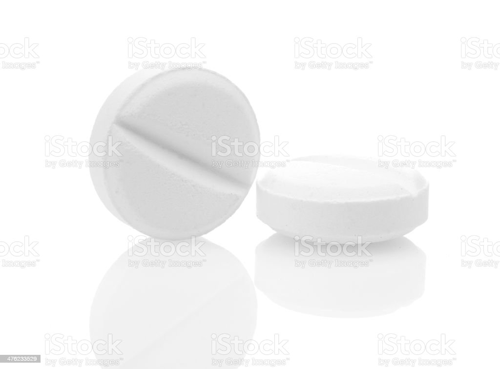 tablets  isolated on white royalty-free stock photo