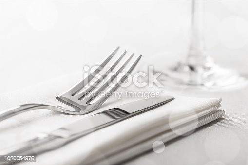 Table Setting with Fork and Knife