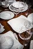 Tableware - plates, bowls and wineglasses