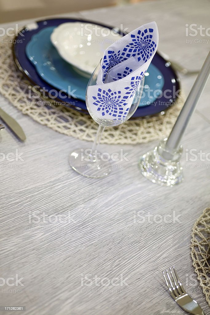 tableware royalty-free stock photo