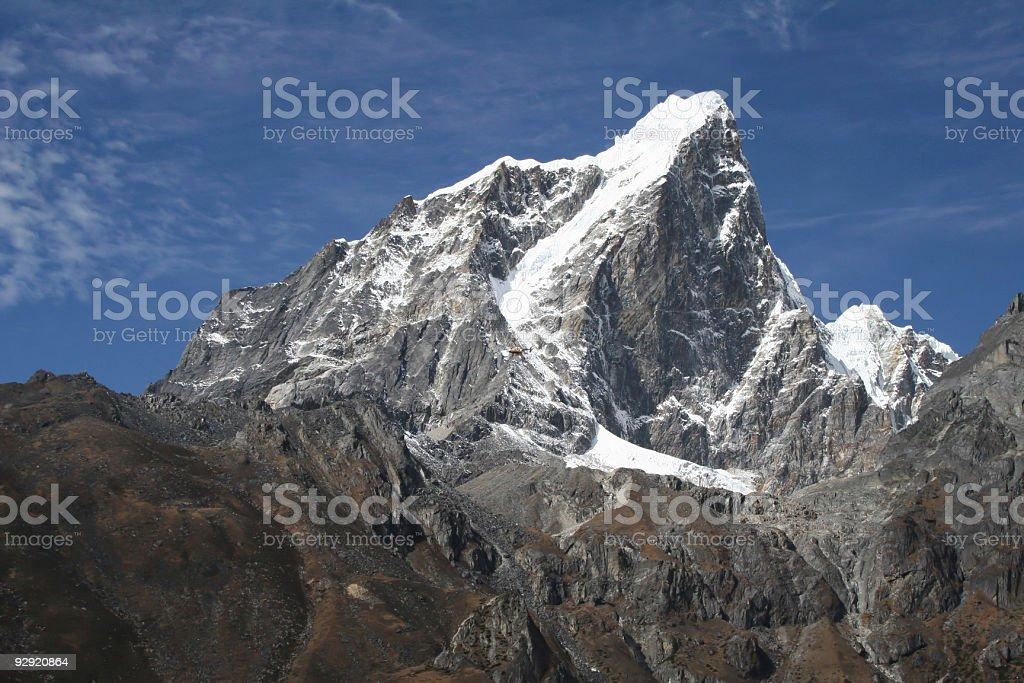 Taboche Peak - Nepal royalty-free stock photo