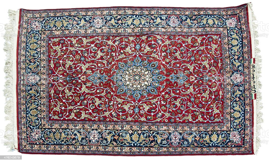 Tabriz carpet stock photo