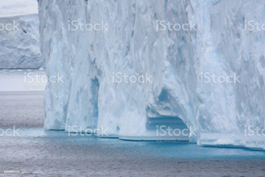 Tabular Iceberg Antarctica stock photo