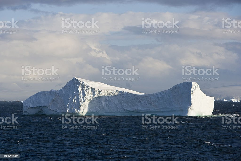 Tabular Iceberg royalty-free stock photo