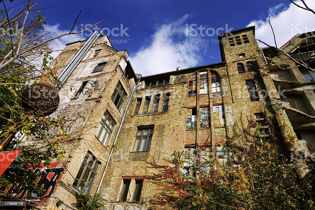 Tacheles in Berlin royalty-free stock photo